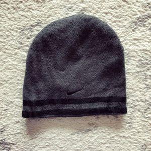 Gray & black Youth Nike knit hat